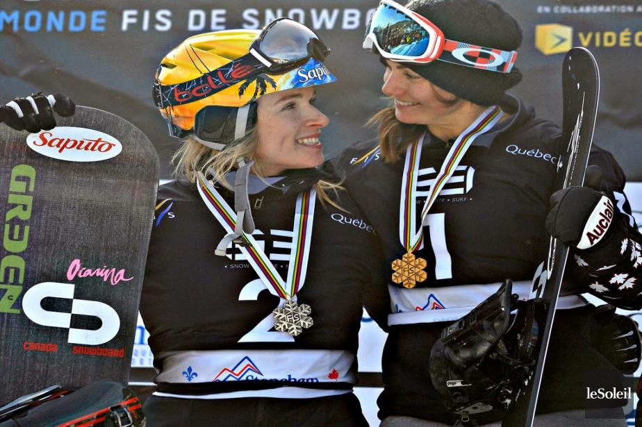 Dominique Maltais et Maëlle Ricker | 27 janvier 2013