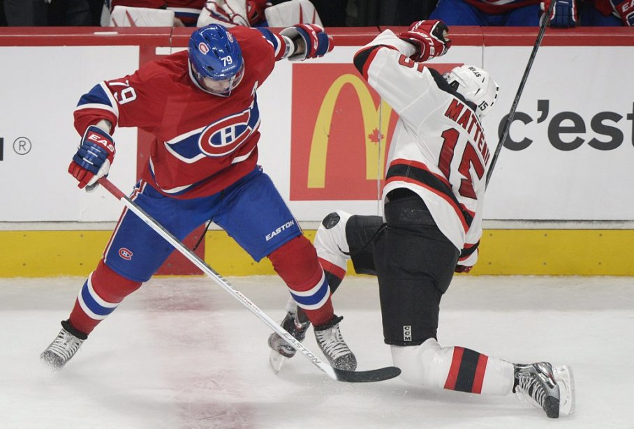 Markov et Matteau en face à face. (Photo Graham Hughes, PC)