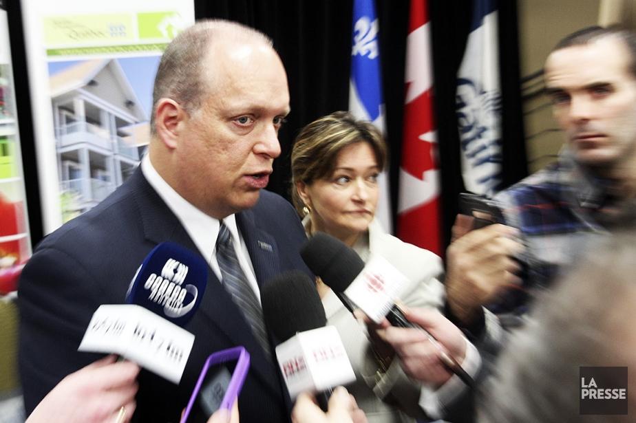 Le ministre de la Sécurité publique, Stéphane Bergeron,... (Photo: Patrick Woodbury, Le Droit)
