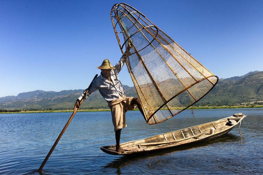Un pêcheur du lac Inle. | 28 janvier 2013
