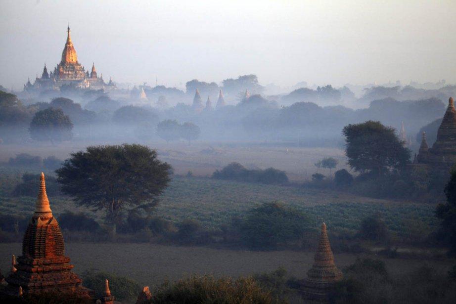 Bagan à l'aube | 28 janvier 2013