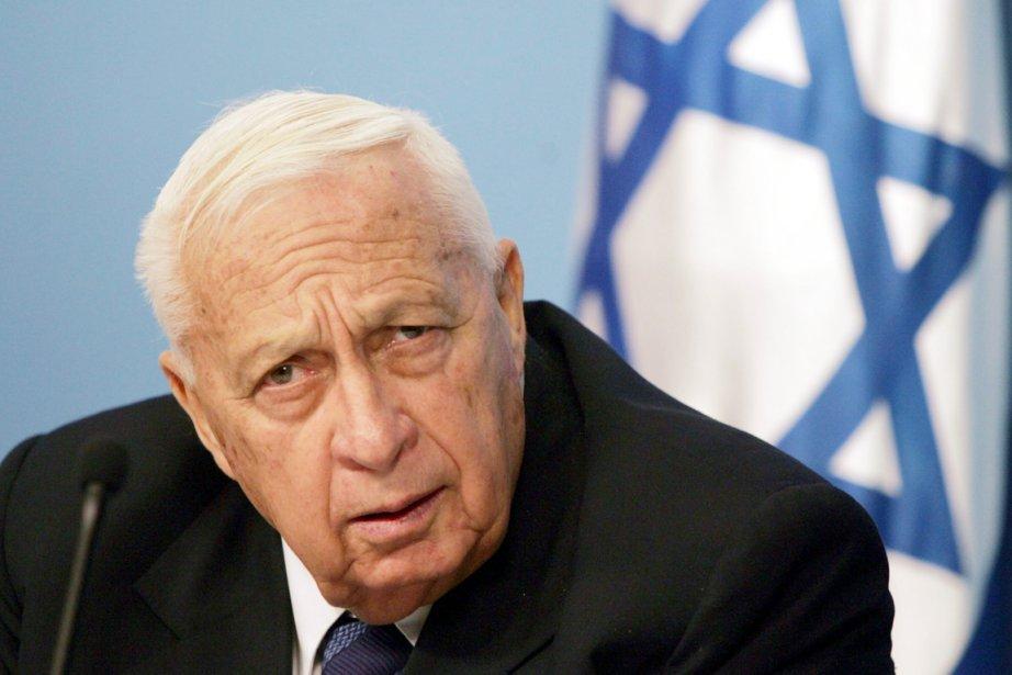 L'ex-premier ministre israélien Ariel Sharon, photographié le 16... (AFP)