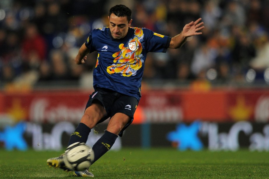 Xavi Hernandez... (Photo: AFP)