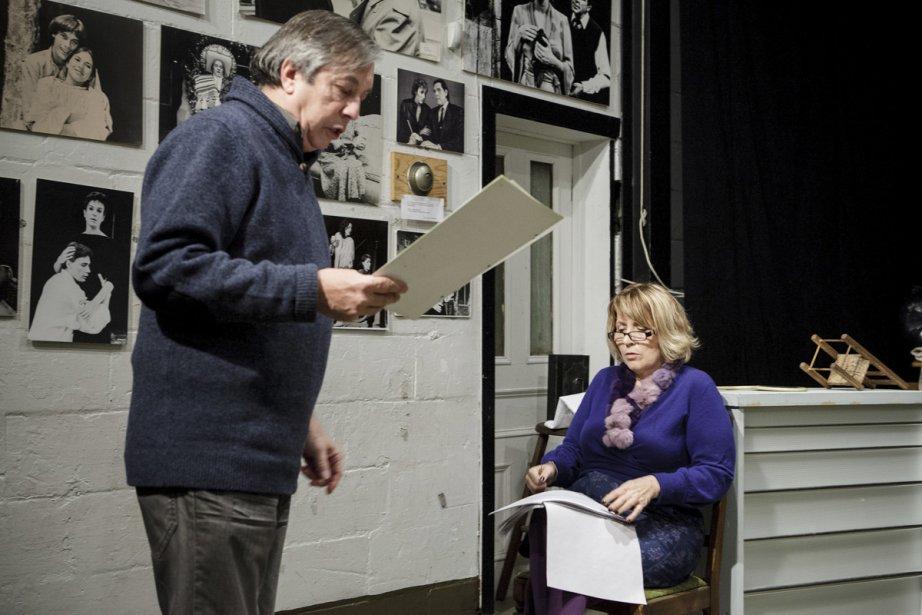 Normand Chouinard (metteur en scène) et Danielle Lorrain... | 2013-01-28 00:00:00.000