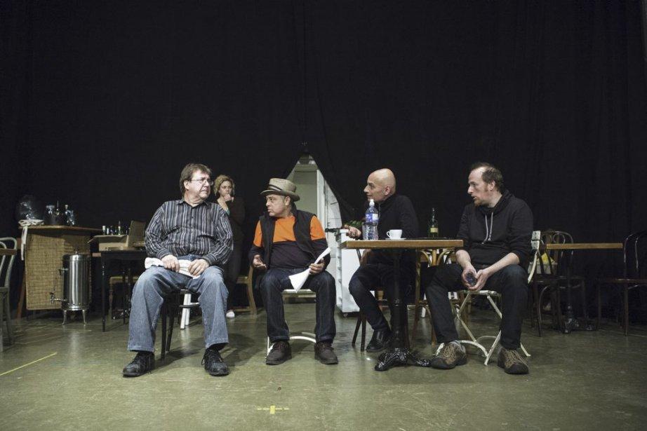 Rémy Girard , Marie-Pier Labrecque , Manuel Tadros, Jean Marchand et Frédéric Desager | 28 janvier 2013