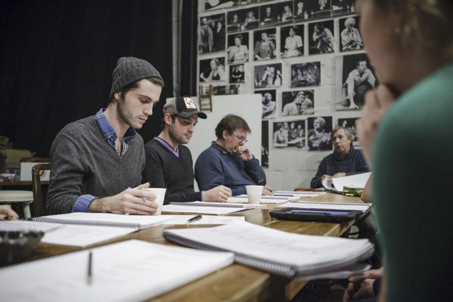 L'équipe au travail | 28 janvier 2013