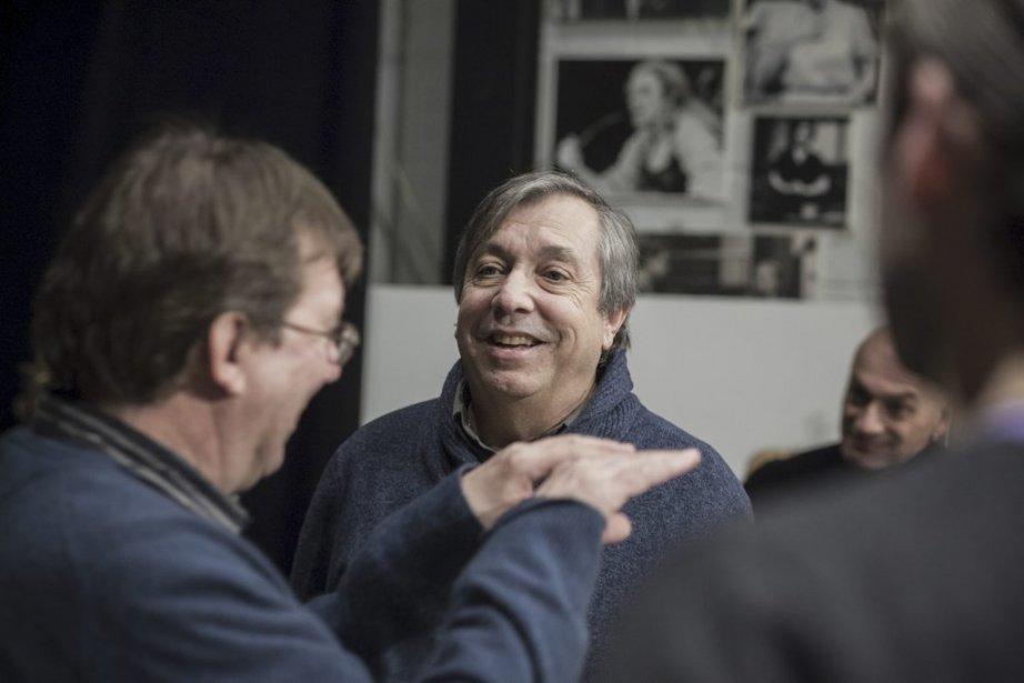 Rémy Girard et Normand Chouinard (metteur en scène) | 28 janvier 2013