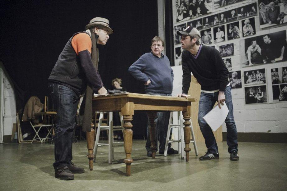 Manuel Tadros, Rémy Girard et François-Xavier Dufour | 28 janvier 2013