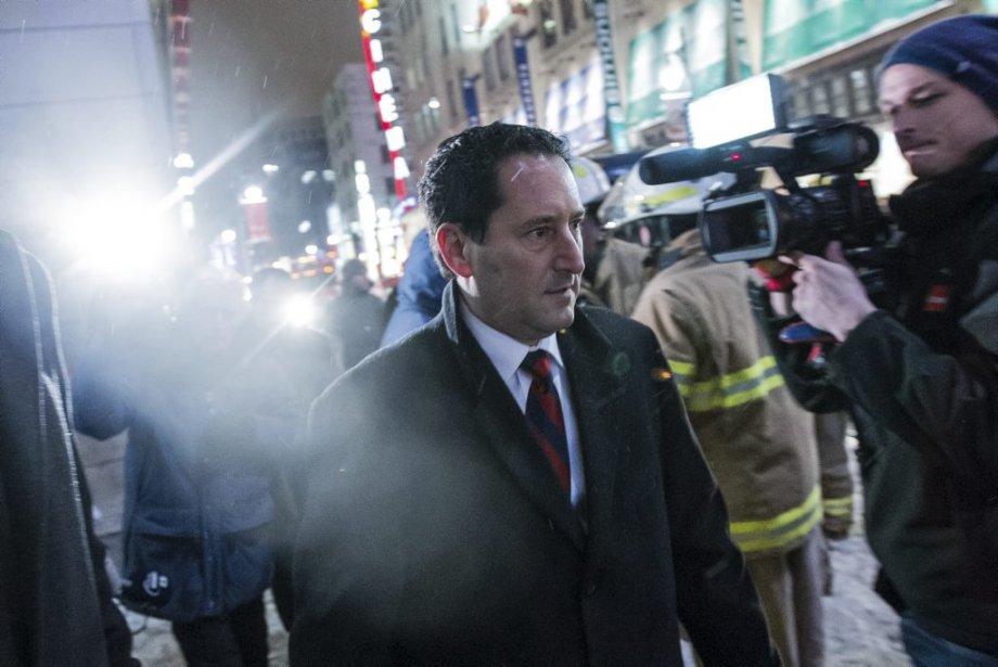 Le maire Applebaum sur les lieux. | 28 janvier 2013