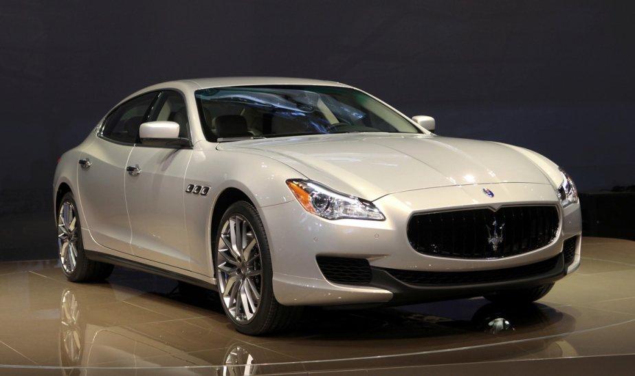 Maserati Quattroporte | 29 janvier 2013
