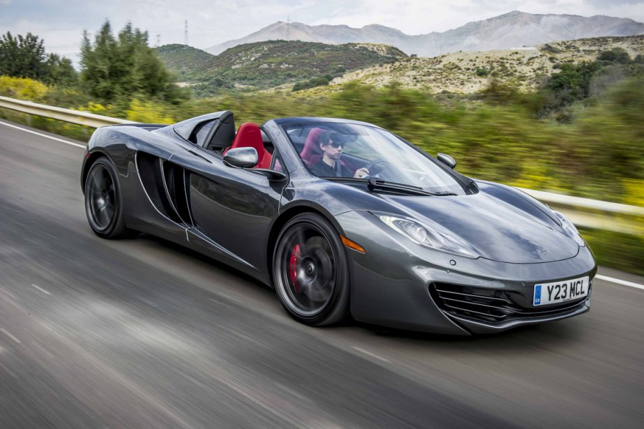 McLaren MP4-12C Spider | 29 janvier 2013