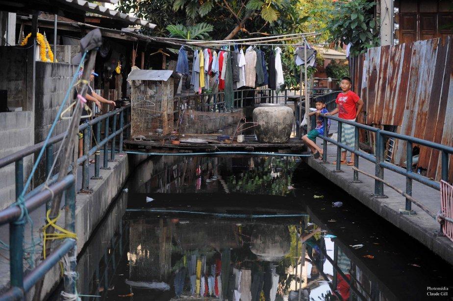 Les khlongs, Bangkok. (Photo: Claude Gill)