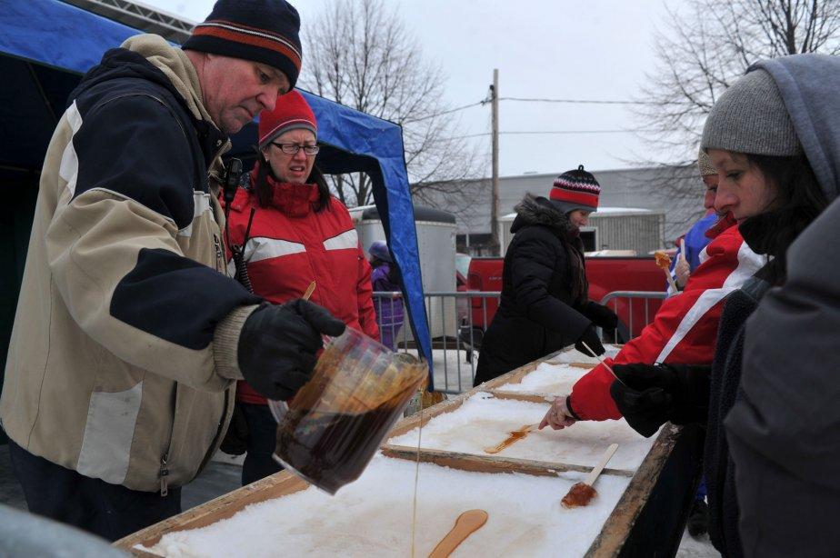 De la bonne tire même en janvier au Carnaval de Sainte-Marguerite. | 29 janvier 2013