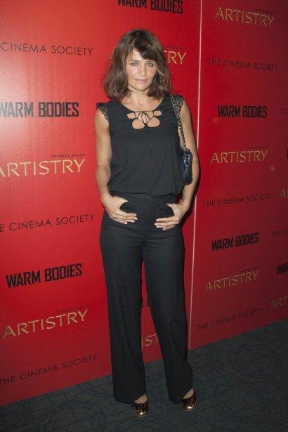 Le mannequin Helena Christensen | 29 janvier 2013