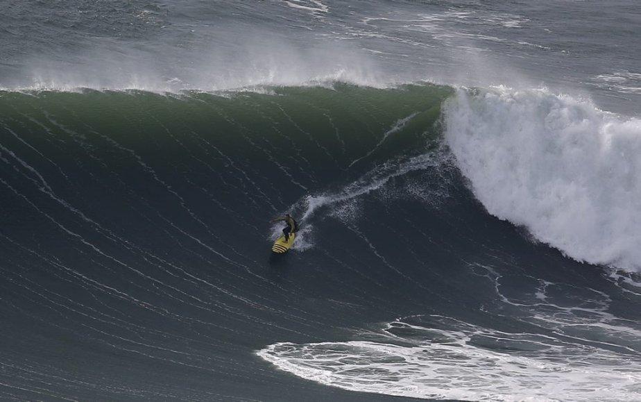 Le surfer originaire d'Hawaï, Garrett McNamara. | 31 janvier 2013