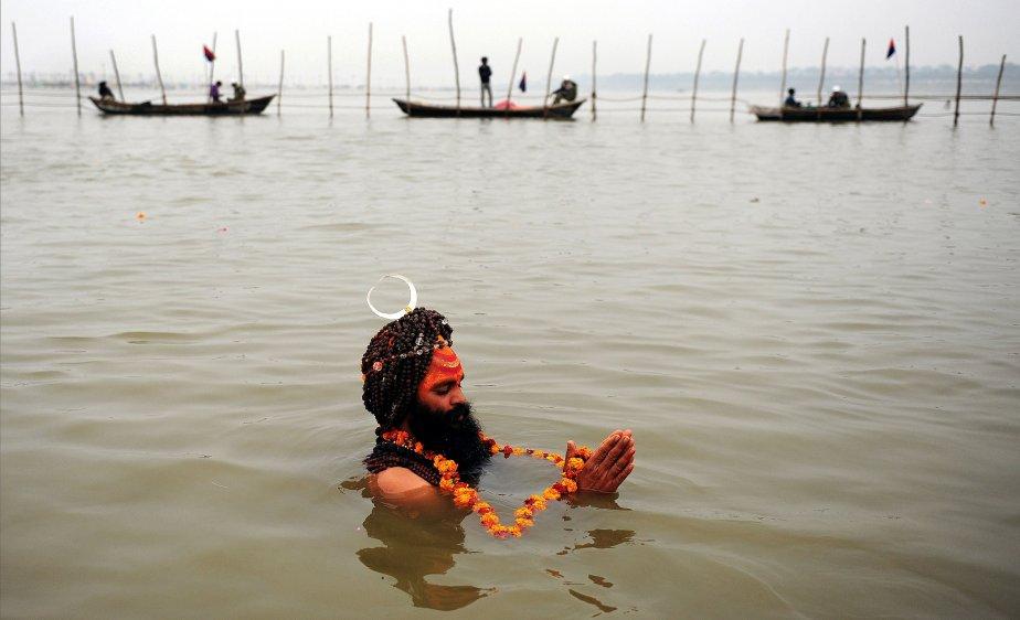 Un sadhu indien, ou