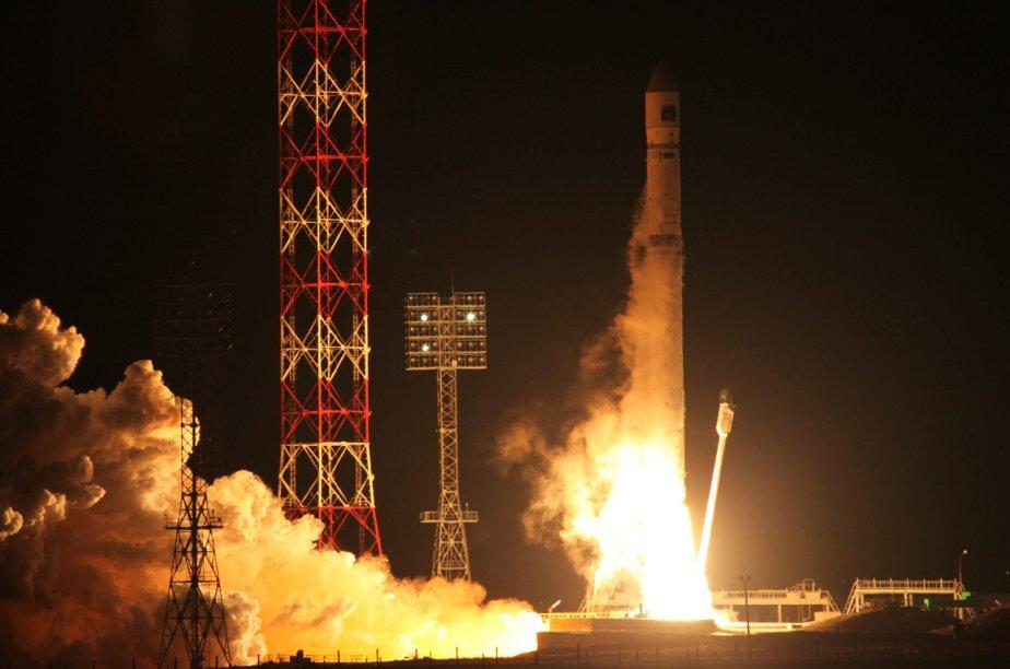 Une fuséeZenit-2SB.... (Photo archives AP)