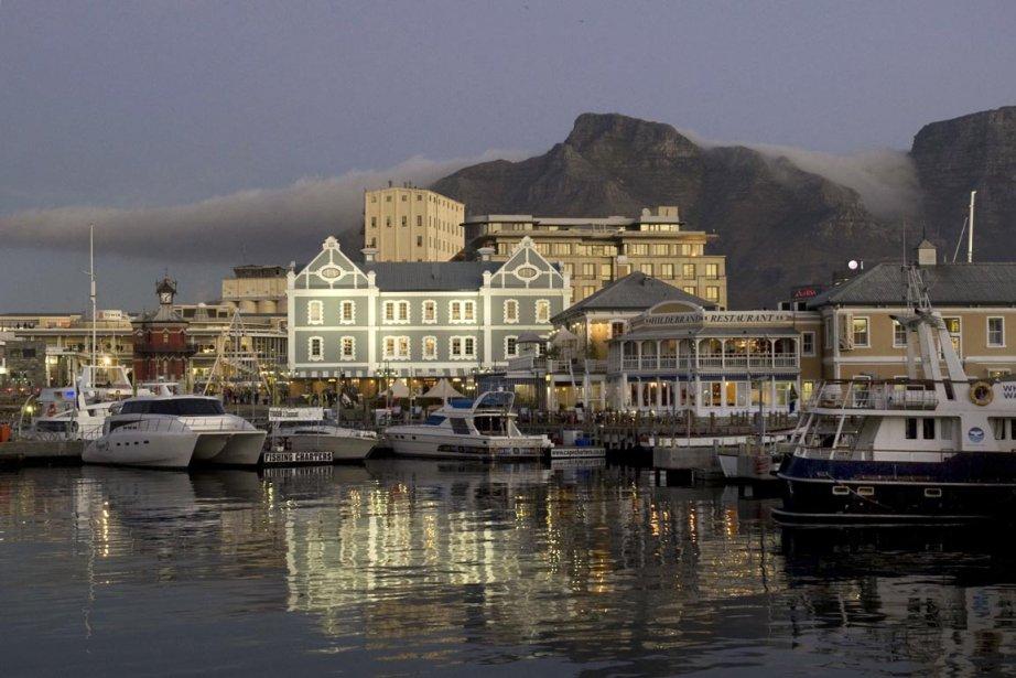 Le Cap, en Afrique du Sud.... (Photo : Rodger Bosch, archives AFP)