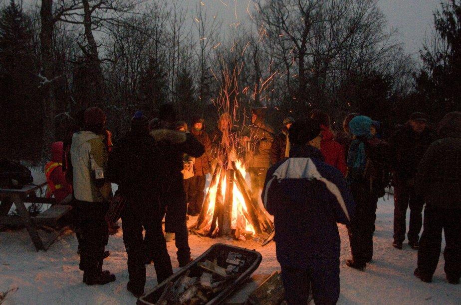 Rassemblement contre l'inversion du flot de l'oléoduc de Montréal Pipeline à Sutton. | 1 février 2013