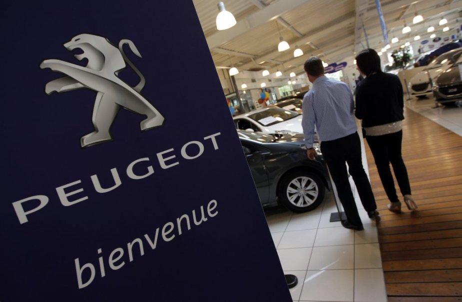 Par rapport à janvier 2012, les ventes de... (PHOTO ARCHIVES REUTERS)