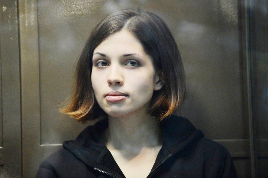 Nadejda Tolokonnikova... (PHOTO NATALIA KOLESNIKOVA, ARCHIVES AFP)