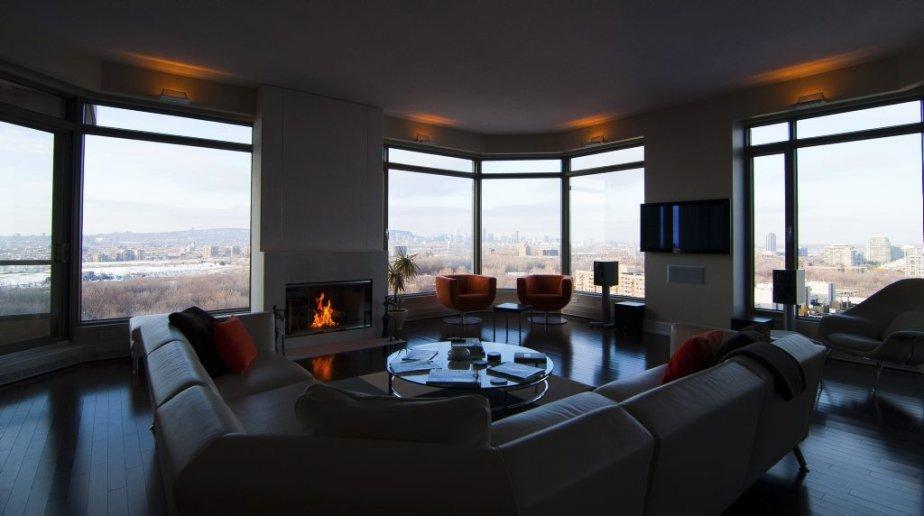 un appartement terrasse de r ve val rie v zina collaboration sp ciale maisons de luxe. Black Bedroom Furniture Sets. Home Design Ideas