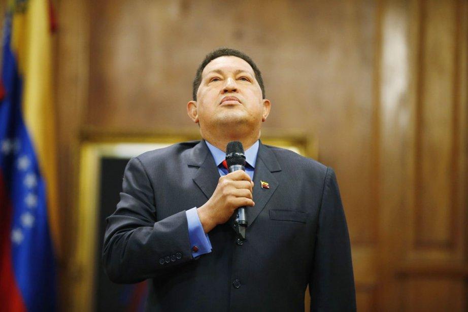 Le président vénézuélien HugoChavez.... (Photo Jorge Silva, archives Reuters)