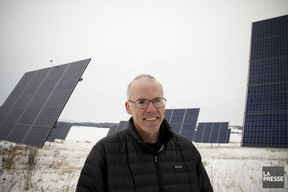 Bill McKibben... (PHOTO NINON PEDNAULT, LA PRESSE)