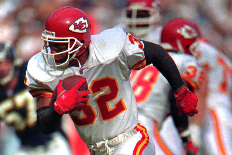 Marcus Allen (ici dans l'uniforme des Chiefs de... (Photo : Lenny Ignelzi, AP)