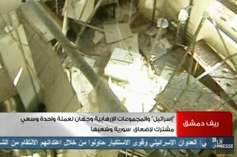 Le président Assad a accusé Israël de vouloir... (Photo: AFP/SYRIAN TV)