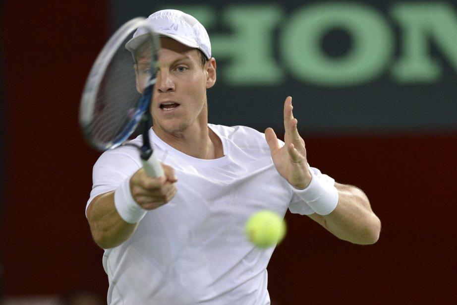 La République tchèque a pu compter sur Tomas... (Photo : Martial Trezzini, AP)