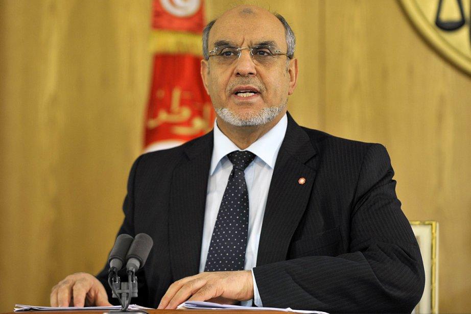 Le premier ministre islamiste tunisien Hamadi Jebali.... (Photo: archives AFP)