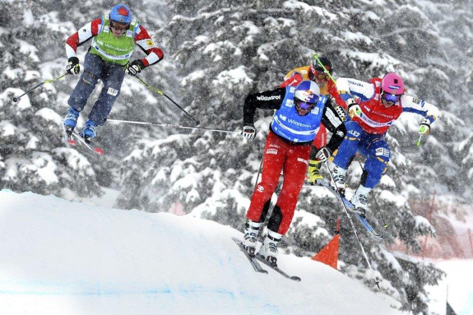 De gauche à droite, Tristan Tafel, Tomas Kraus,... (PHOTO FELIX KAESTLE, AFP)