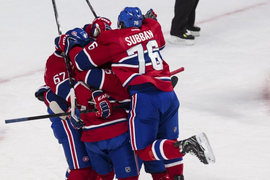 PHOTO, EDOUARD PLANTE-FRÉCHETTELA PRESSESUJET : Match des Canadiens...