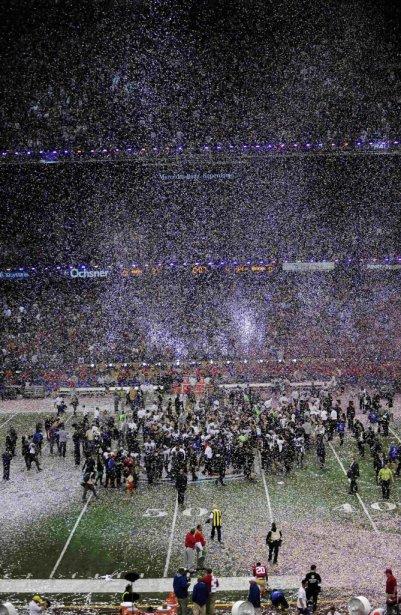 Le 47e Super Bowl aura été riche en rebondissements. | 3 février 2013