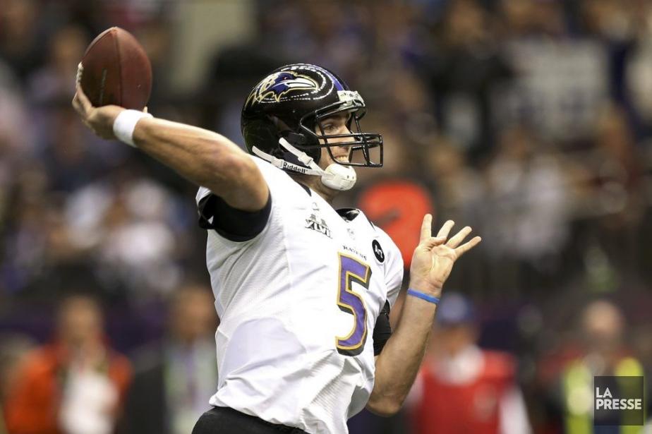 Nommé joueur par excellence du Super Bowl, Joe... (Photo Reuters)