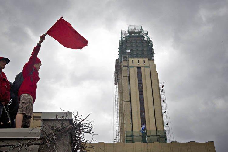 Si le gouvernement annonce une hausse ou une... (Photo: Patrick Sanfaçon, La Presse)
