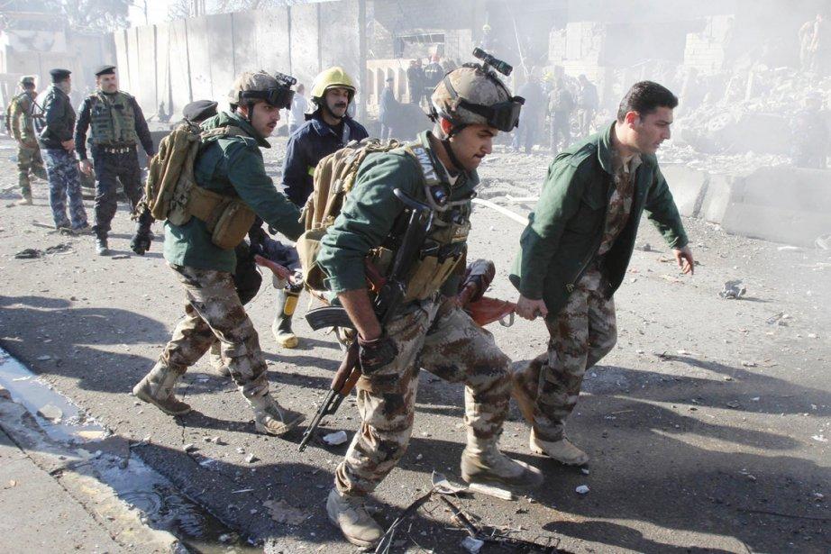 L'attentat de Taji survient 24 heures après une... (PHOTO AKO RASHEED, ARCHIVES REUTERS)