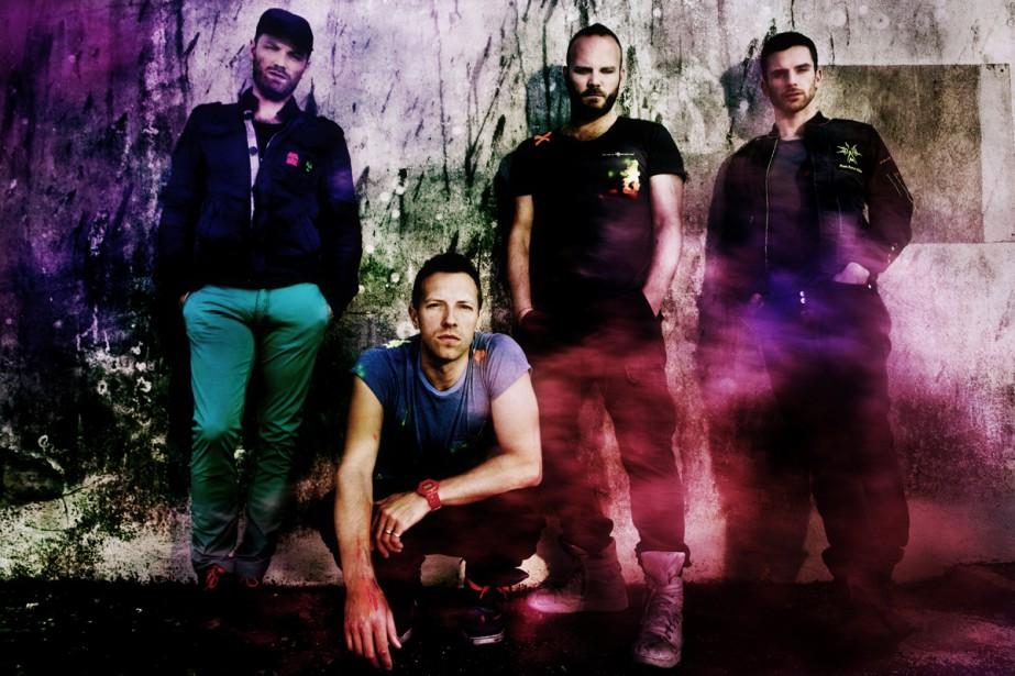 Coldplay... (Photo: fournie par ARTV)