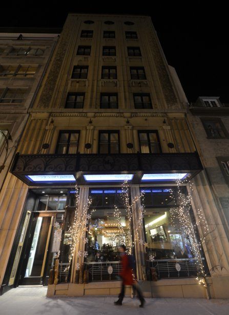 Le restaurant chez Boulay. (Bernard Brault, La Presse)