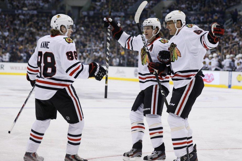 Les Blackhawks de Chicago n'ont pas encore perdu... (Photo Lucy Nicholson, Reuters)