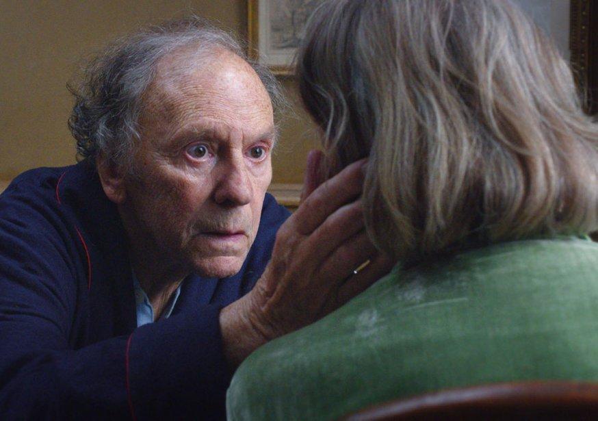 Jean-Louis Trintignant a tourné le film Amour avec le poignet... (Courtoisie)