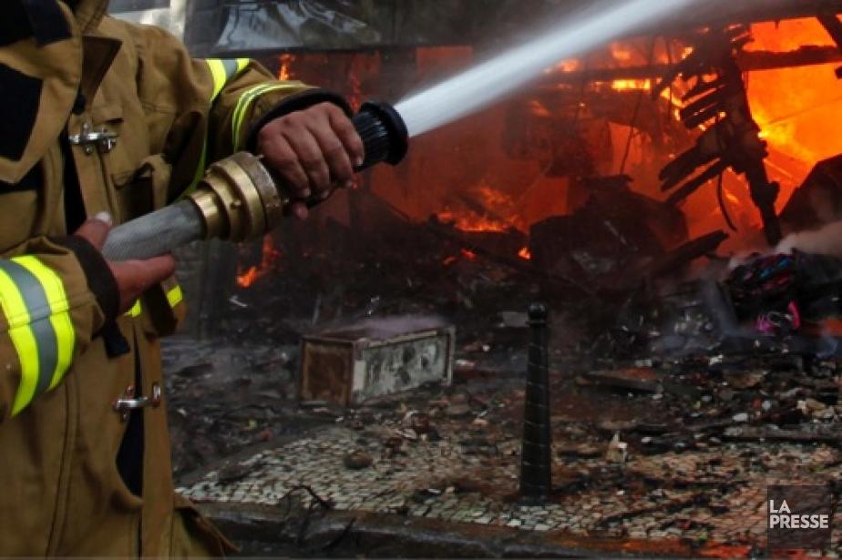 Un incendie a détruit une cabane à sucre bien connue... (Photothèque Le Soleil)