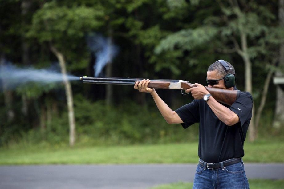 Barack Obama a confié qu'il pratiquait régulièrement le... (Photo d'archives AP)