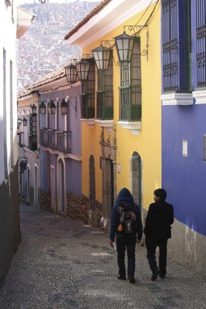 La rue Jaen, qui concentre une pléiade de musées. (Photo Sylvain Sarrazin, La Presse.)