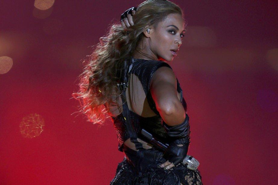 Beyoncé lors de sa prestation au Super Bowl.... (Photo: Reuters)
