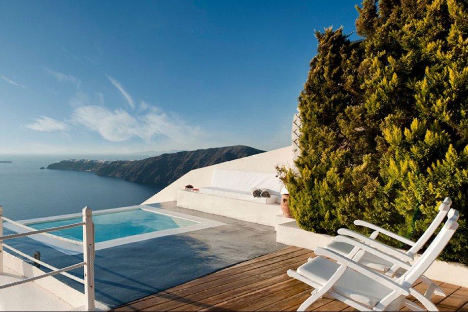 L'Anastasis Apartments sur l'île de Santorini serait l'hôtel... (Photo fournie par Anastasis Apartments)