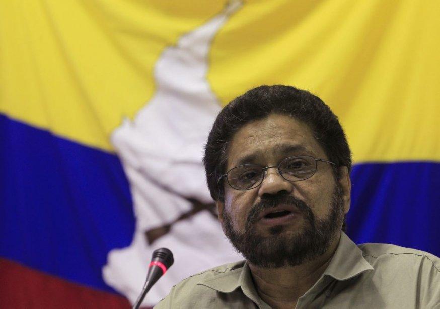 Le chef de la délégation des Farc aux... (Photo ENRIQUE DE LA OSA, Reuters)