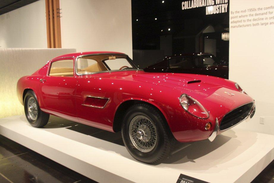 On dirait une Ferrari GTB, mais il s'agit plutôt d'une Corvette Italia réalisée par le carrossier Scaglietti, un projet auquel General Motors a refusé de collaborer. (Photo Jacques Duval, colaboration spéciale)