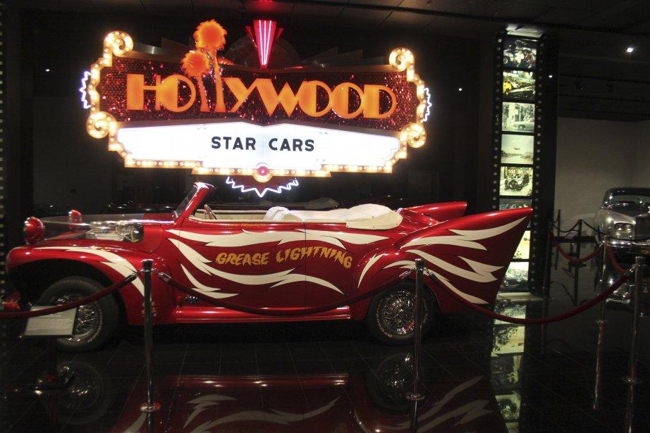 Sous la bannière « Star Cars », le musée Petersen réunit plusieurs voitures reliées à l'histoire du cinéma. (Photo Jacques Duval, collaboration spéciale)